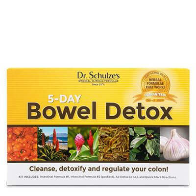 5-Day BOWEL Detox, @2x