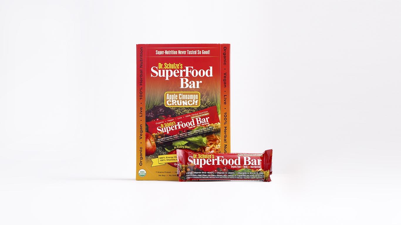 SuperFood Crunch Bars-KSFB12CR