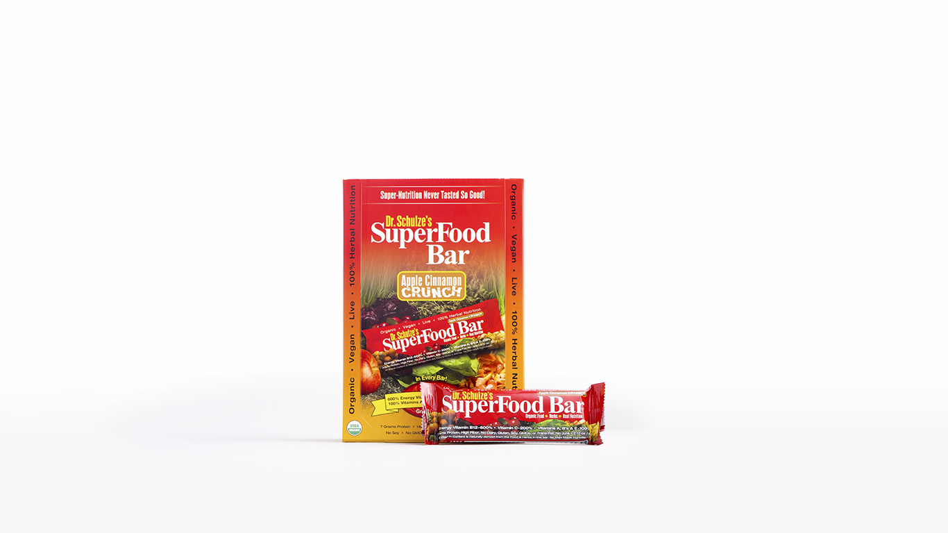 SuperFood Crunch Bars, 12-pk